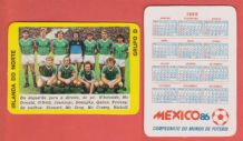 Northern Ireland Team 1986 World Cup